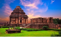 India-The Sun temple-Konark-Wallpaper