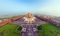 india_akshardham_temple_beautiful_top_view_panorama_85106_1920x1080