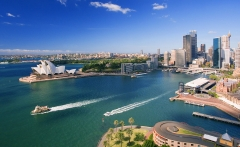 Downtown Sydney and Waterfront