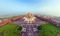 india_akshardham_temple_beautiful_top_view_panorama_85106_1920x1080