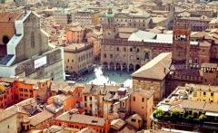 Bologna city view, Italy