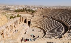 Amphitheatre-Jerash-Jordan