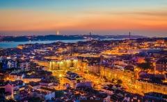 Original Lisbon City of Lights Photography By Messagez.com-X2