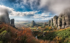 The Valley Of Fog - (Meteora, Greece)