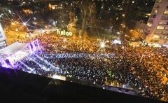 Hiljade Sarajlija Novu godinu dočekalo uz vatromet i muziku