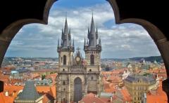 CZ Prague Clock Tower2