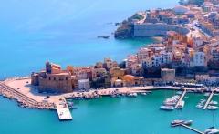 Italian city of Castellammare del Golfo